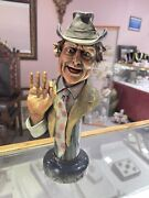 Legends Bronze Thereand039s Only One Clem 310/ 999 Pete Apsit Red Skelton Signed