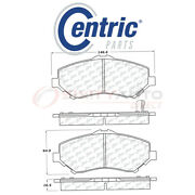 Centric Posi Quiet Disc Brake Pads W Shims For 2009-2014 Volkswagen Routan It