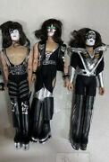 Kiss 12 Inch Action Figures Series Three Sonic Boom Set Of 3 Loose Figures