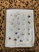 Lot Of 25 Vtg American Red Cross Pins Texas , Ohio, Louisiana, Wyoming And More