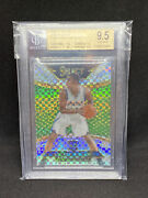 2014 2015 Select Andrew Wiggins Courtside Silver Prizm Bgs 9.5 W 10 Ssp Rc