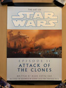 Star Wars Ep2 Attack Of The Clones Celebration 20x30 Glossy Vinyl Poster Del Rey