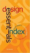 Design Essential Index With Color Index 2 And Type ... By Krause Jim Paperback