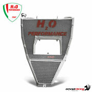 H2o Oversized Water Radiator + Mounting Kit For Ducati 1199 Panigale