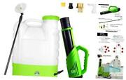 4.2 Gallon Backpack Battery-powered Sprayer Rechargeable Cordless