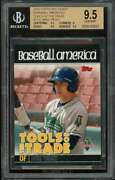 Mike Trout Rookie Card 2010 Topps Pro Debut Baseball America 27 Bgs 9.5