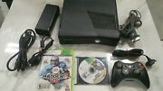 Ncaa Football 14 Xbox 360 S Bundle W/ Madden 25 And Wireless Controller