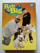 Rob And Big The Complete Seasons 1 And 2 Uncensored Dvd, 2008, 4-disc Set Mtv