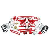 Umi Gbf004-1-r 78-88 G-body Stage 4 Kit 1 Inch Lowering Red