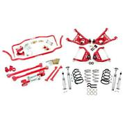 Umi Abf408-64-2-r 64 A-body Kit Stage 4 2 Inch Lowering Red