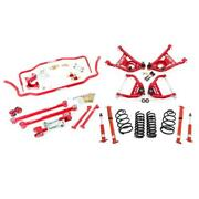 Umi Abf406-1-r 65-66 A-body Kit 1 Inch Lowering Stage 3 Red