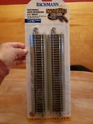 Bachmann Ez-track 9 Straight Electronic Auto-reversing Track Ho Scale 44548 New