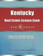 Kentucky Real Estate License Exam Audiolearn Complete Audio Review For The Real