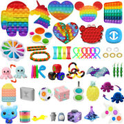 1-100pc Fidget Sensory Toy Set Stress Relief Anti Anxiety Autism For Kids Adults