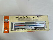 Con-cor Ho Scale 1/87 Amtrak Authentic Passenger Cars 1126 In Box