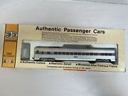 Con-cor Ho Scale 1/87 Amtrak Authentic Passenger Cars 4801 In Box