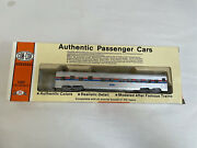 Con-cor Ho Scale 1/87 Amtrak Authentic Passenger Cars 2431 In Box