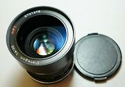 Rollei Carl Zeiss Distagon 35/1.4 Hft Lens Made In Germany Modified In M42 Mount
