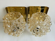 A Pair Of Large Bubble Sconces By Helena Tynell - Limburg Glashanduumltte - Wall Light