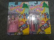 Wizard Of Oz Lot Of 2 Tin Man And Glinda Poseable Dolls-new