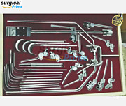 Omni Tract Surgical Retractor Complete Set With Wishbone Frame Of Surgical Tools