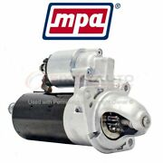 Mpa Starter Motor For 1991-1999 Bmw 318i - Electrical Charging Starting Lh