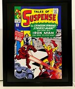 Tales Of Suspense 52 By Jack Kirby 11x14 Framed Marvel Comics Art Print Poster