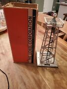 Lionel Electric Trains Vintage Rotating Beacon  394 Box, Manual Beacon