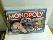 Monopoly Sore Losers Nos Still Sealed Board Game Set Hasbro Get Even Not Sad