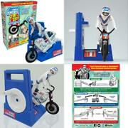 Evel Evil Knievel Stunt Cycle With Energizer Launcher And Stunt Trail Bike