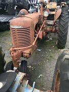 1950 St Case Tractor, Easy Rider Seat Assembly W Pan Spring Bracket