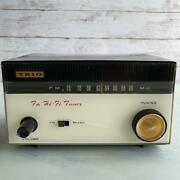 Trio Kenwood Fm-108 Fm Stereo Tuner Vintage 1960s Junk Rare Compact