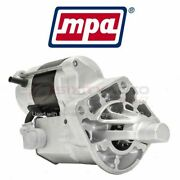 Mpa Starter Motor For 1998-2002 Chrysler Concorde - Electrical Charging Tf