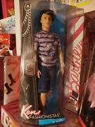 New 2011 Ken Fashionistas Barbie Doll Ryan Rooted Hair Articulated