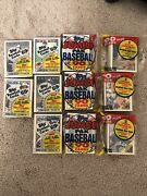 1988 Topps Jumbo Paks 3 Pack 90 Cards And 5 Tops Baseball Bubble Gum Cards