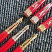 Montegrappa Fountain Pen Extra Red - Limited Edition 2021 Korea Exclusive