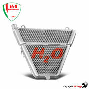H2o Additional Water And Oil Radiator + Mounting Kit For Ducati 1199 Panigale