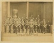 Young Military Cadets In Uniforms W Rifles Bayonets Antique Photos