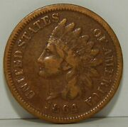 1864 L Indian Head One Cent - 1¢