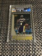 1996-97 Bowmanandrsquos Best Kobe Bryant Rookie Card Hga 9 Mint Lakers True Mint