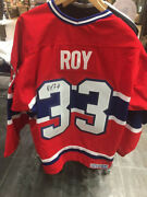 Montreal Canadiens Patrick Roy Signed Stanley Cup Jersey 1993 W/authentication