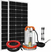 12v Solar Water Pump Pond Submersible Deep Well Kit And Solar Panel Irrigation