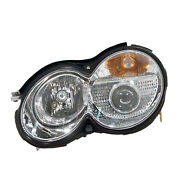 Mb2503132 Head Lamp Assembly Passenger Side W/hid