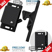 4 Pack Cabinet Door Latch/rv Drawer Latches 8 Pull Force Latch Holder For H...