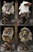Modern Resin Animal Sculpture Statues For Home Office Living Room Decoration