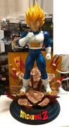 Dragon Ball Z Vegeta 1/4 Scale Resin Statue 350-piece Limited Used- Good 365/mn