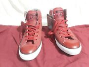 Converse Chuck Taylor All Star Fresh High Top Back Alley Brick Size 10 152658c