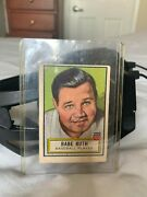 Topps Famous American Series Babe Ruth Card