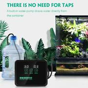 Smart Automatic Automatic Mist Spray System Plant Humidifier With Lcd Screen
