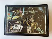 Star Wars 1977 Kenner Mini-action Figure Collector's Case With 24 Figures